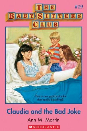Reading books Claudia and the Bad Joke (The Baby-Sitters Club, #19)