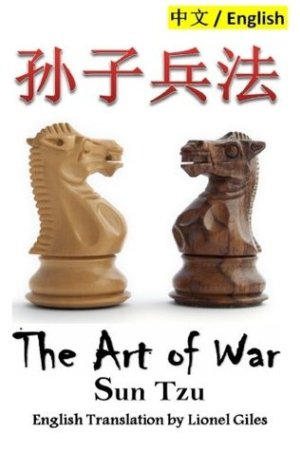 Reading books The Art of War