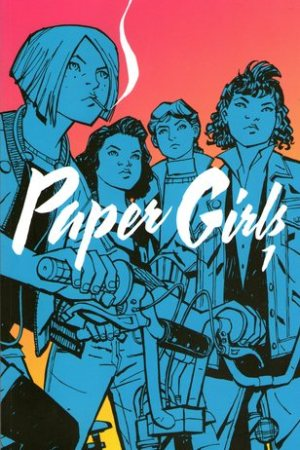 Reading books Paper Girls, Vol. 1 (Paper Girls, #1)