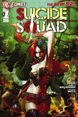 Reading books Suicide Squad #1