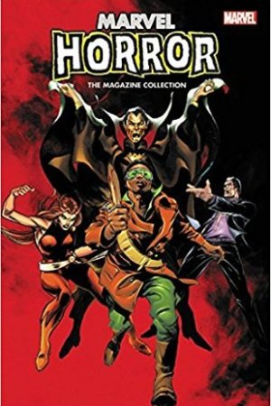 Reading books Marvel Horror: The Magazine Collection