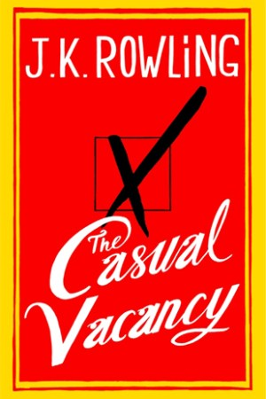 Reading books The Casual Vacancy
