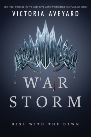 Reading books War Storm (Red Queen, #4)