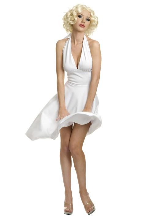 Plush Girls Plus Size Marilyn Halter Dress Marilyn Monroe Dress Costume Halter Dresses Halter Dresses Halter Dresses
