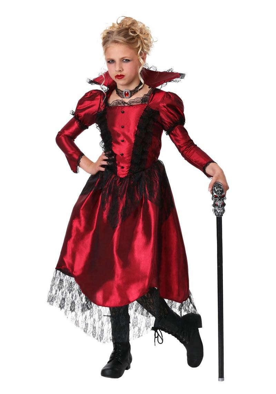 Large Of Girls Vampire Costume
