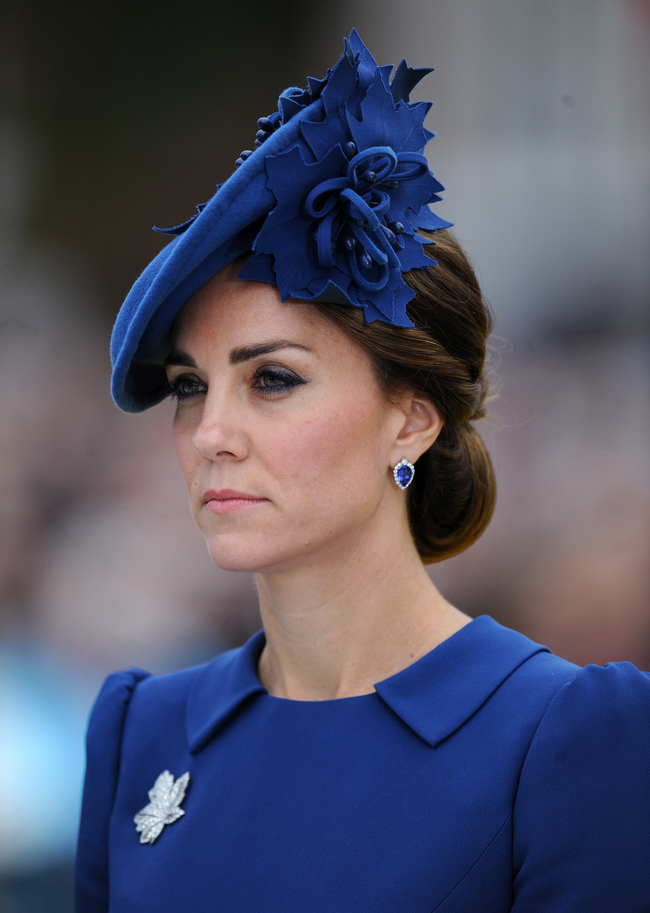 Kate Middleton hats  the Duchess of Cambridge s 21 best looks     7Seriously blue
