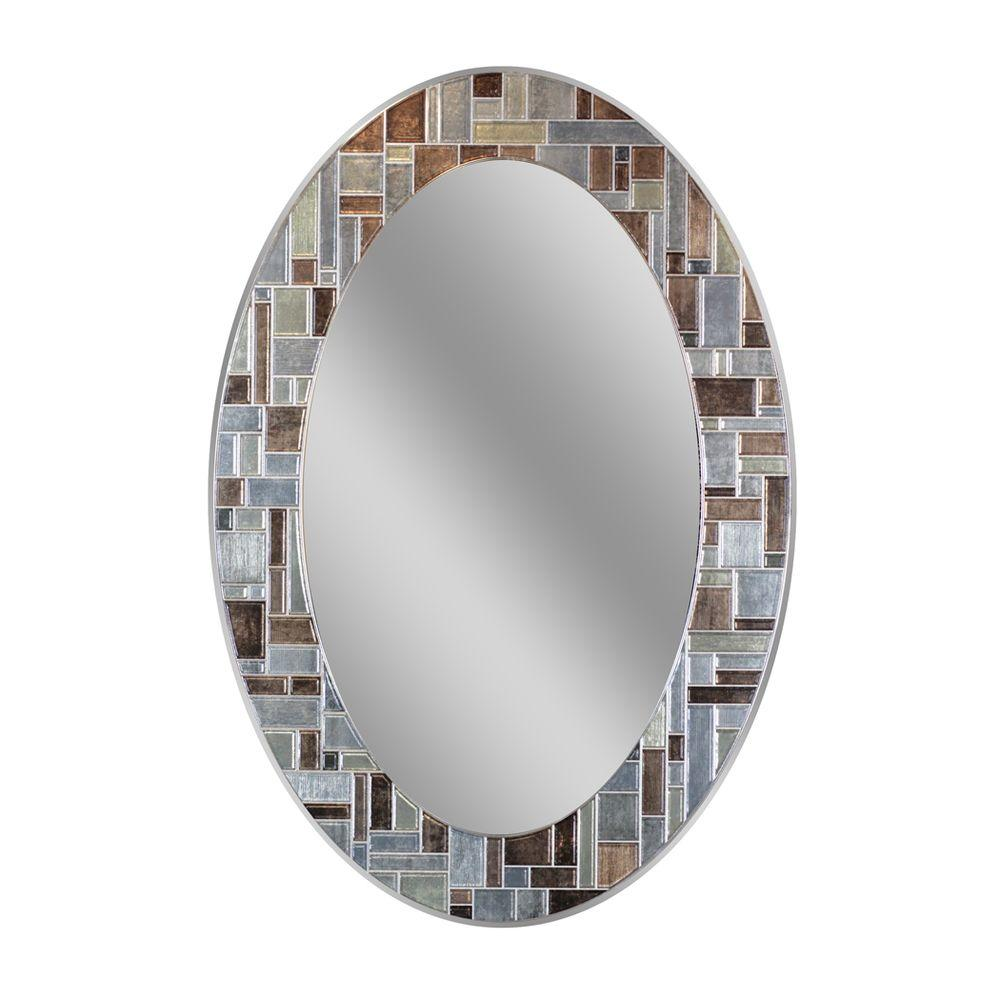 Attractive W Windsor Oval Tile Wall Mirror Deco Mirror L X W Windsor Oval Tile Wall Oval Bathroom Mirrors Sydney Oval Bathroom Mirrors Tilt houzz-03 Oval Bathroom Mirrors