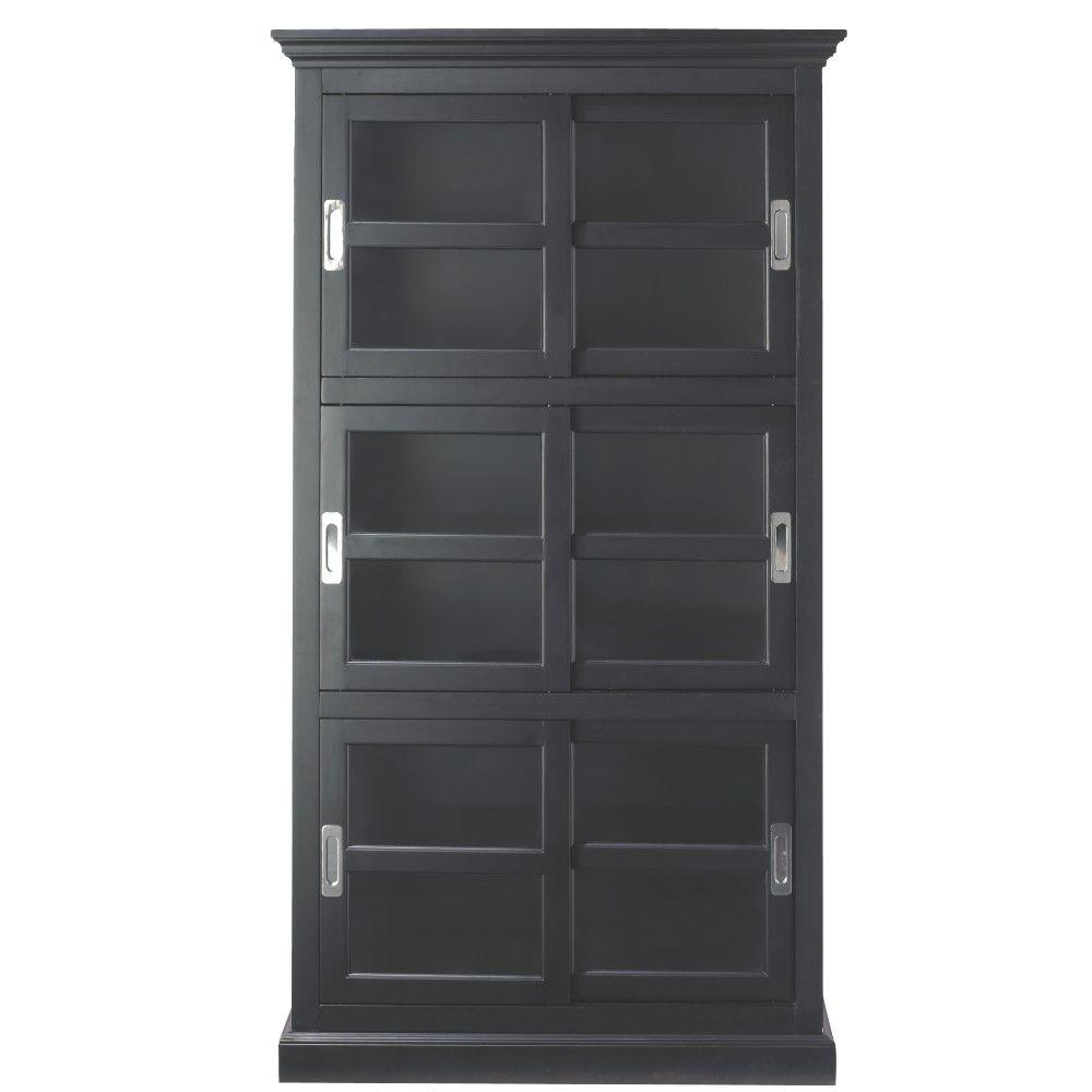 Magnificent Home Decorators Collection Lexington Black Glass Door Bookcase Home Decorators Collection Lexington Black Glass Door Bookcase Glass Door Bookcase Drawers Diy Glass Door Bookcase houzz-02 Glass Door Bookcase