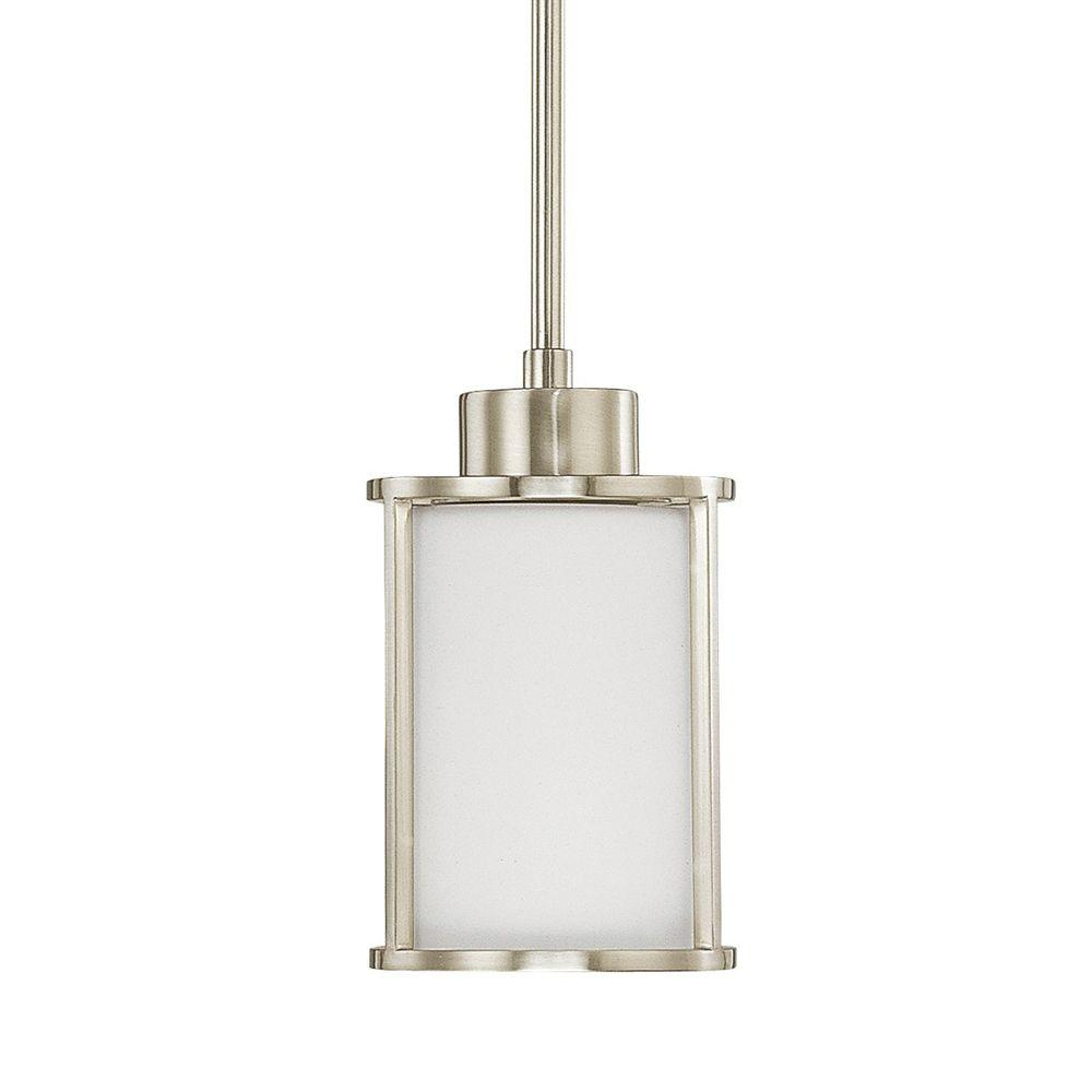 Lovable Home Decorators Collection Brushed Nickel Glass Shade Home Decorators Collection Brushed Nickel Mini Pendant Lights Glass Mini Pendant Lights Vaulted Ceilings houzz-02 Mini Pendant Lights