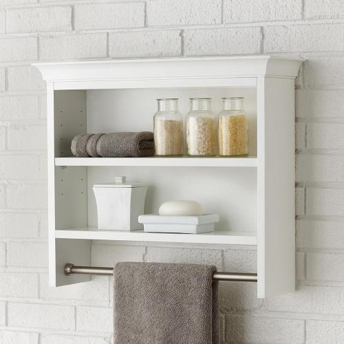 Medium Crop Of Wall Bathroom Shelves