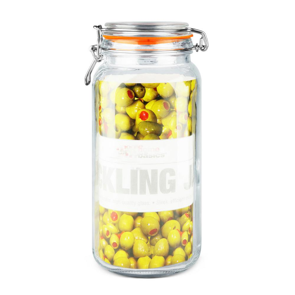 Famed Glass Pickeling Clear Latch Lid Glass Jars Compare Prices At Nextag Large Glass Jars Bulk Large Glass Jars Decorative houzz-03 Large Glass Jars