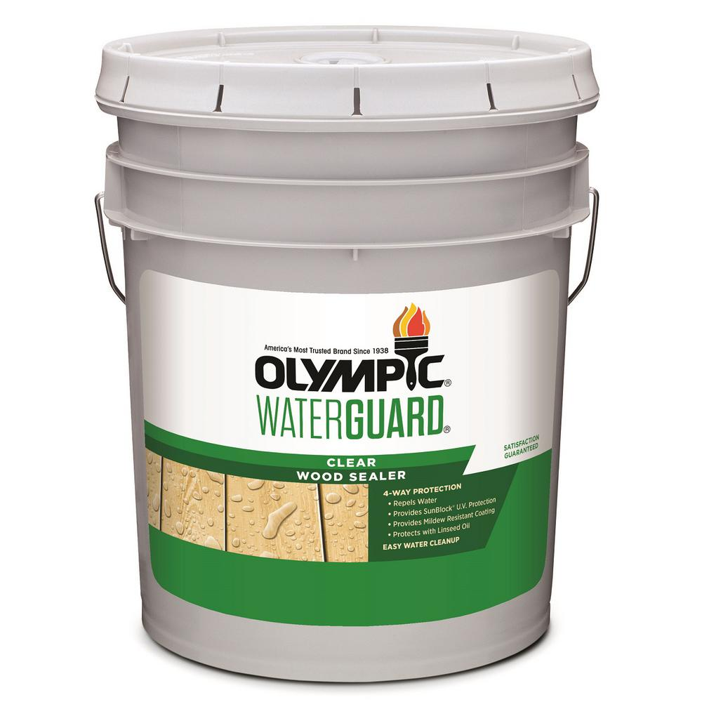 Sleek Olympic Waterguard Clear Wood Sealer Olympic Waterguard Clear Wood Home Depot Olympic Deck Cleaner Fuzzy Olympic Deck Cleaner Amazon houzz 01 Olympic Deck Cleaner