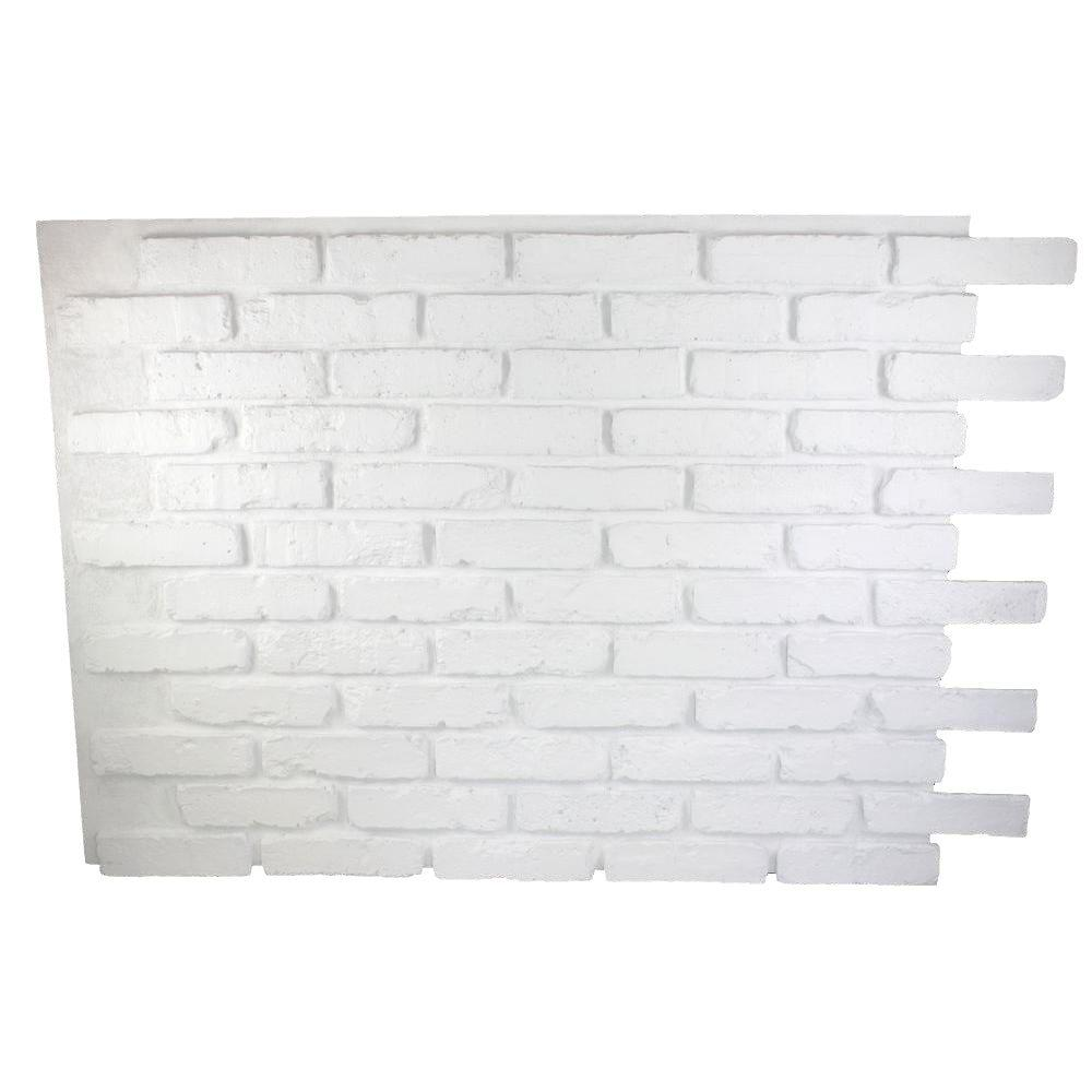 Calmly Superior Building Supplies Faux Reclaimed Brick X X Superior Building Supplies Faux Reclaimed Brick X X Brick Wall Living Room Brick Wallpaper Iphone houzz 01 White Brick Wall