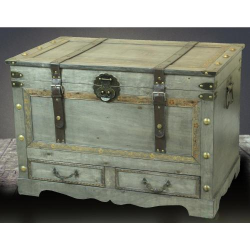 Medium Of Trunk Coffee Table