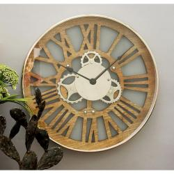 Small Crop Of Gear Wall Clock