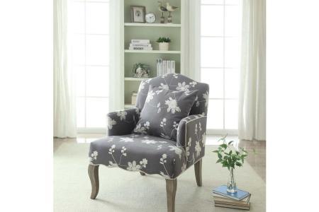 gray fl linon home decor accent chairs 368312gry01u 64 1000