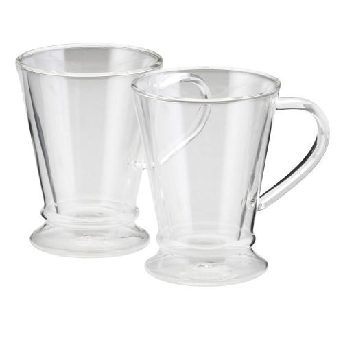 Medium Of Glass Mugs With Lids