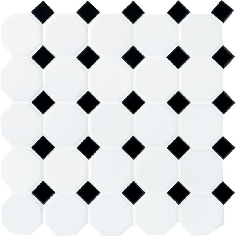 Large Of Black And White Tile