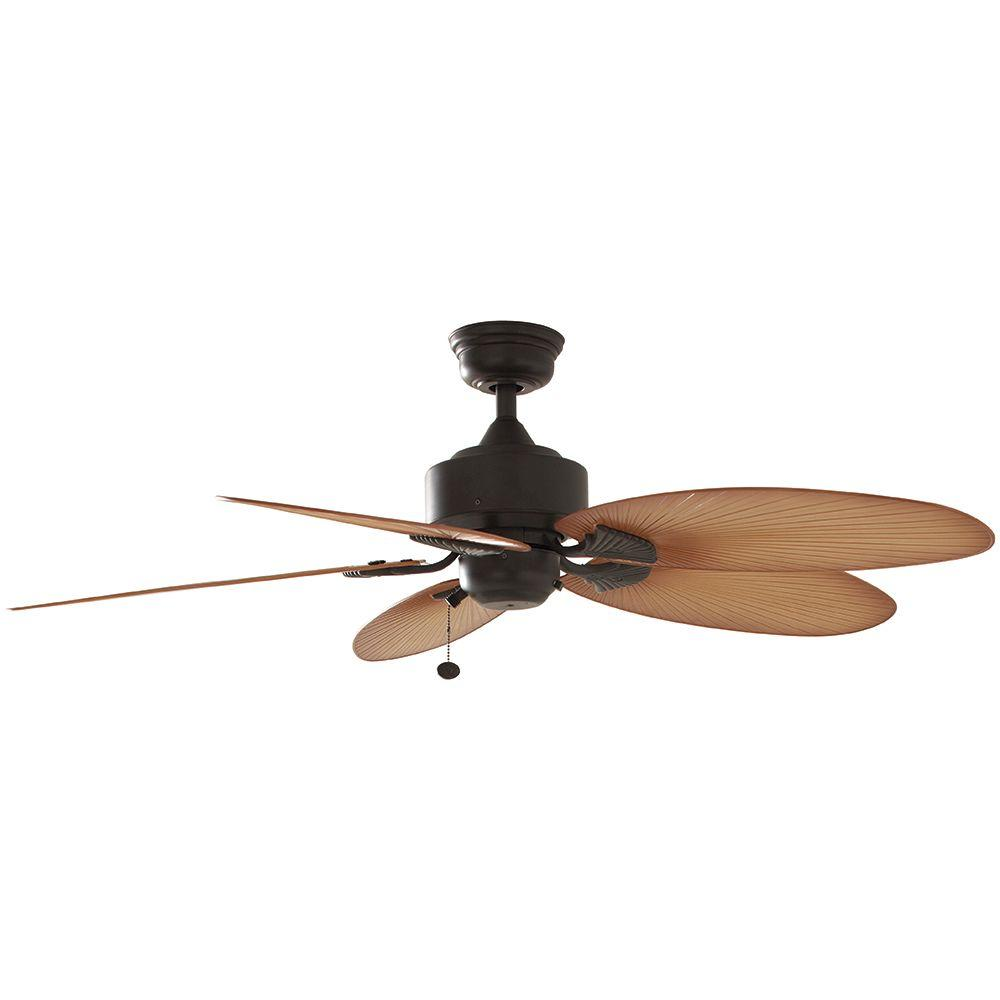 Pristine Aged Bronze Hampton Bay Ceiling Fans Without Lights 32711 64 1000 Large Ceiling Fans Canada Large Ceiling Fans Barns houzz 01 Large Ceiling Fans