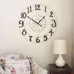 Small Crop Of Wall Clock Numbers