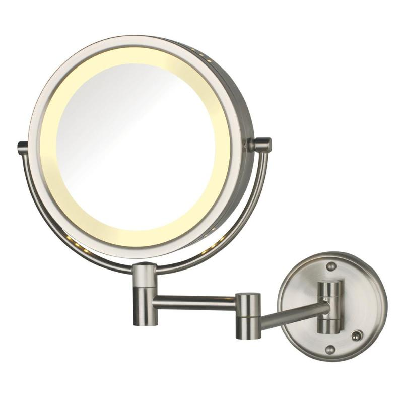 Large Of Wall Mounted Makeup Mirror