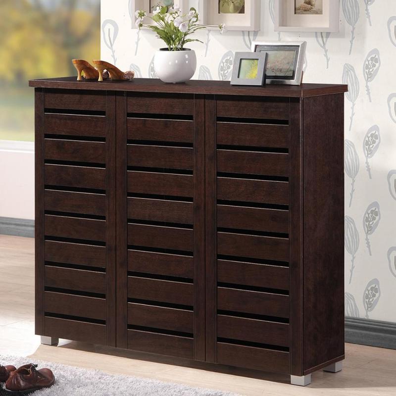 Large Of Wood Storage Cabinets