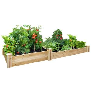 Charm Cedar Raised Garden Bed Greenes Fence X Cedar Raised Garden Home Gardening Kit Chennai Home Depot Gardening Kit