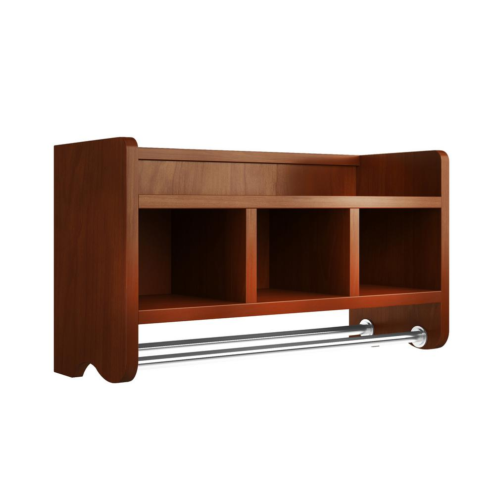 Formidable Towel Rod Towel Rod 4 Shelf Bathroom Storage Caddy Bathroom Storage Shelf Nz Chestnut Alaterre Furniture W Bath Storage Shelf W Bath Storage Shelf bathroom Bathroom Shelf Storage