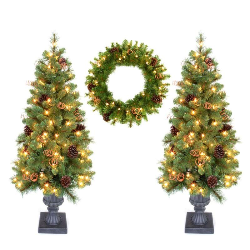 Large Of Home Depot Artificial Christmas Trees