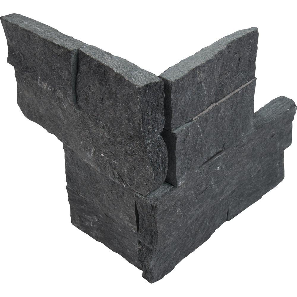 Phantasy Coal Black Slate Tile Stone Tile Home Depot Black Slate Tile Canada Black Slate Tile 12x24 houzz-02 Black Slate Tile