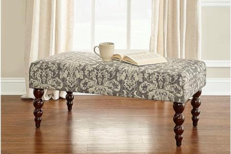 black linon home decor bedroom benches 36110gdam01u 64 1000