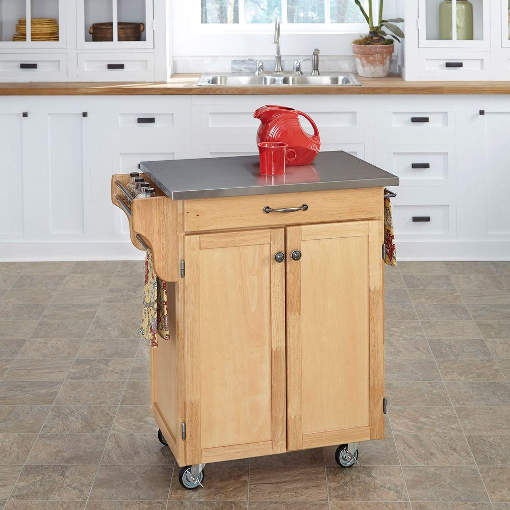 Awesome Stainless Steel Kitchen Carts Islands Utility Tables Home Depot Small Solid Wood Kitchen Island Small Reclaimed Wood Kitchen Island Kitchen Cart kitchen Small Wooden Kitchen Island