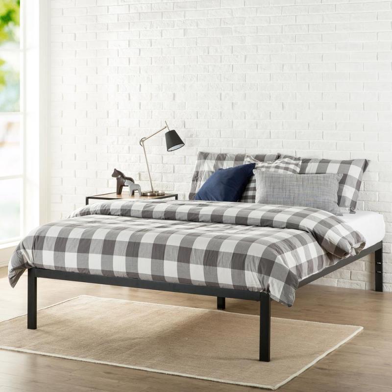 Irresistible Sale Zinus Platform Queen Metal Bed Frame Zinus ...
