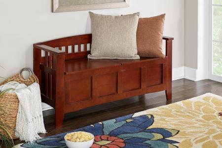 walnut linon home decor dining benches 85001walz 01 kd u 64 1000