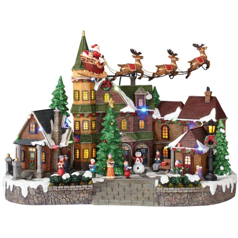 Large Of Christmas Village Sets