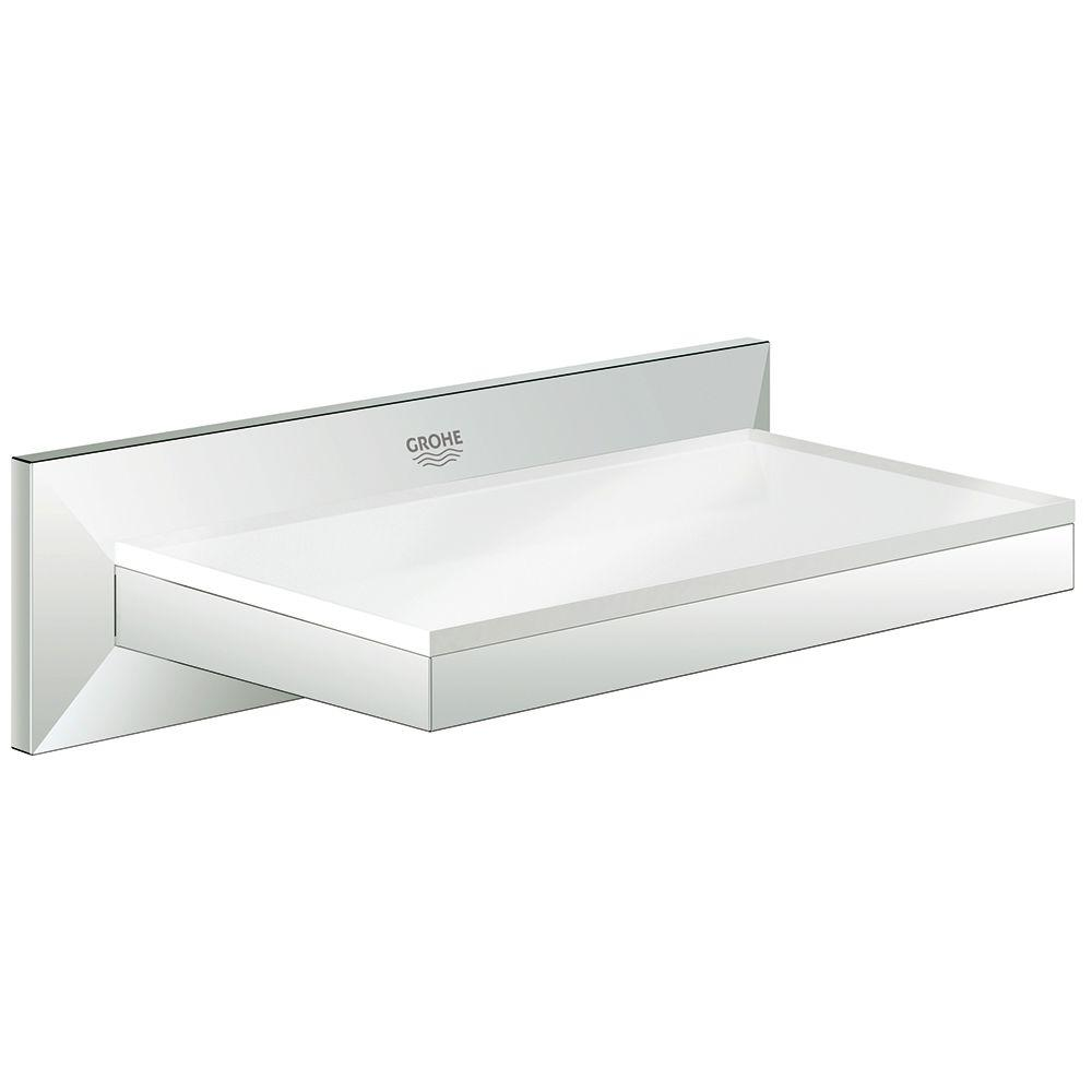 Trendy Grohe Allure Soap Dish Shelf Shower Installation Soap Dish Soap Dish Shelf Starlight Chrome Grohe Allure Soap Dish Shower Slide Bar houzz-02 Soap Dish For Shower