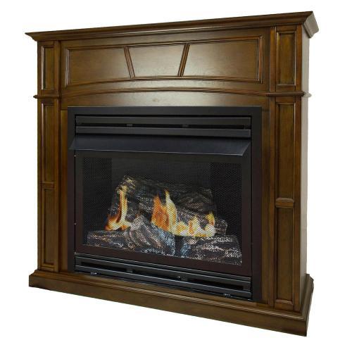 Medium Of Gas Fireplace Ventless
