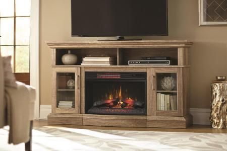 rustic pine home decorators collection fireplace tv stands 103027 64 1000