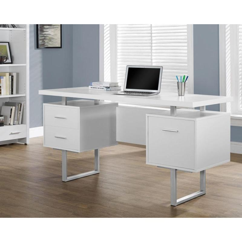 Large Of White Computer Desk