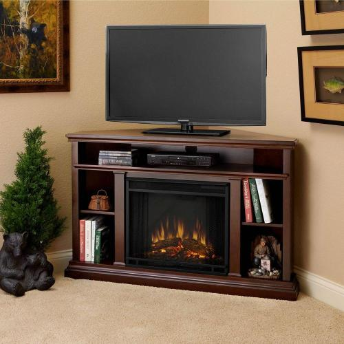 Medium Of Corner Entertainment Center