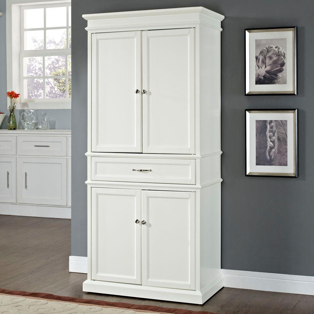 Voguish Crosley Parsons Storage Cabinet Crosley Parsons Storage Home Depot Pantry Cabinet Sears Pantry Cabinet Walmart houzz 01 White Pantry Cabinet