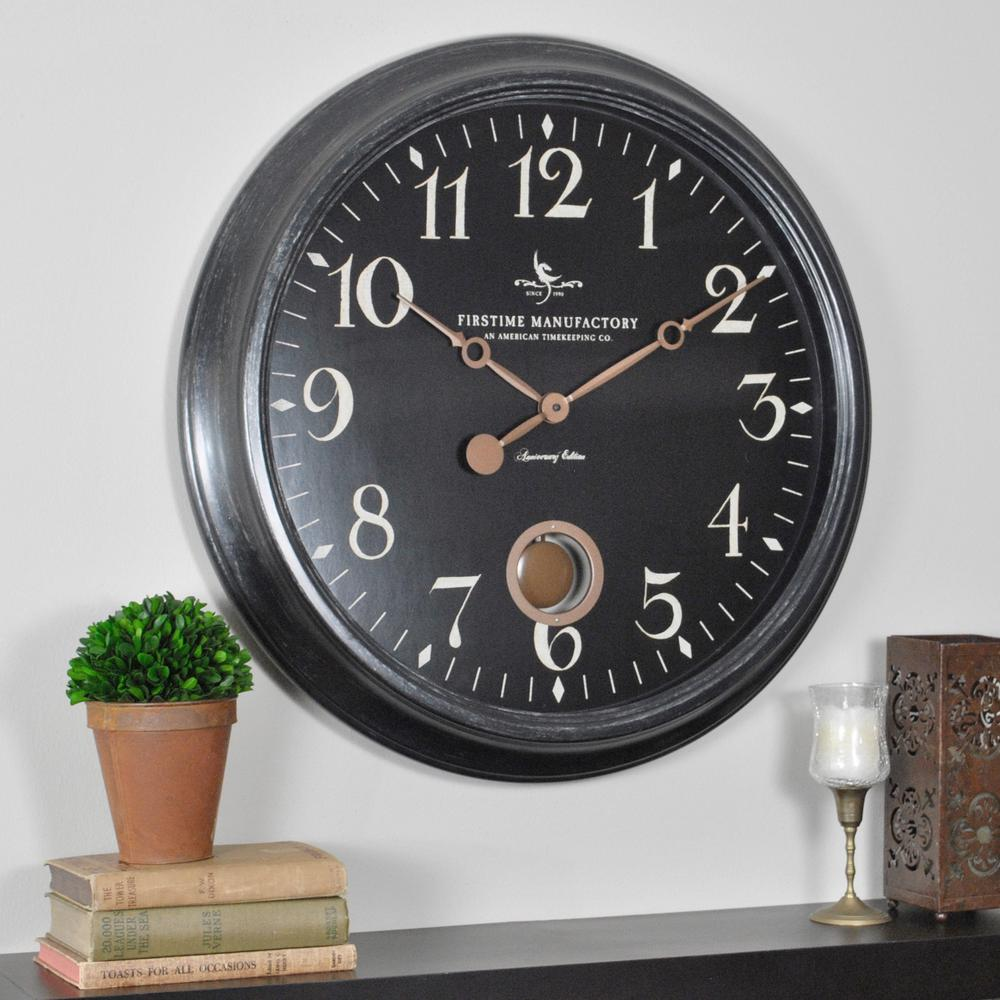 Compelling Round Varenna Wall Clock Ime Round Varenna Wall Home Depot Star Shaped Wall Clocks furniture Star Shaped Wall Clocks