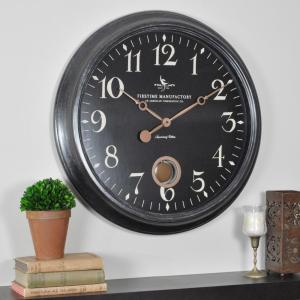 Compelling Round Varenna Wall Clock Ime Round Varenna Wall Home Depot Star Shaped Wall Clocks