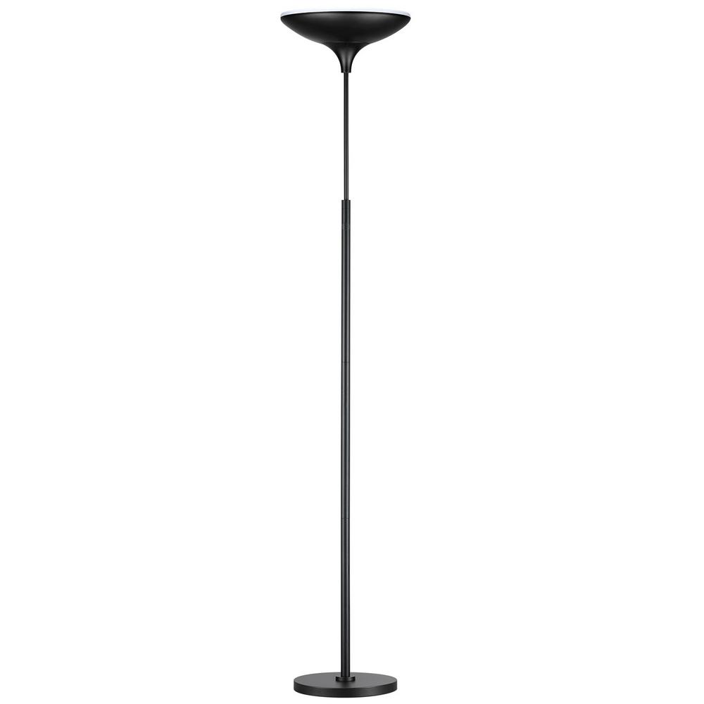 Fantastic Dimmer Brightech Sky Led Torchiere Lamp Energy Star Globe Electric Black Satin Led Lamp Torchiere Led Torchiere Lamp Black Satin Led Lamp Torchiere houzz 01 Led Torchiere Floor Lamp