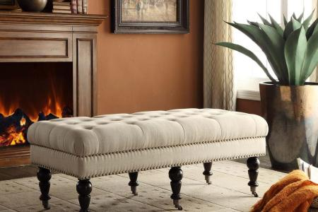 dark espresso linon home decor bedroom benches 368253nat01u 64 1000