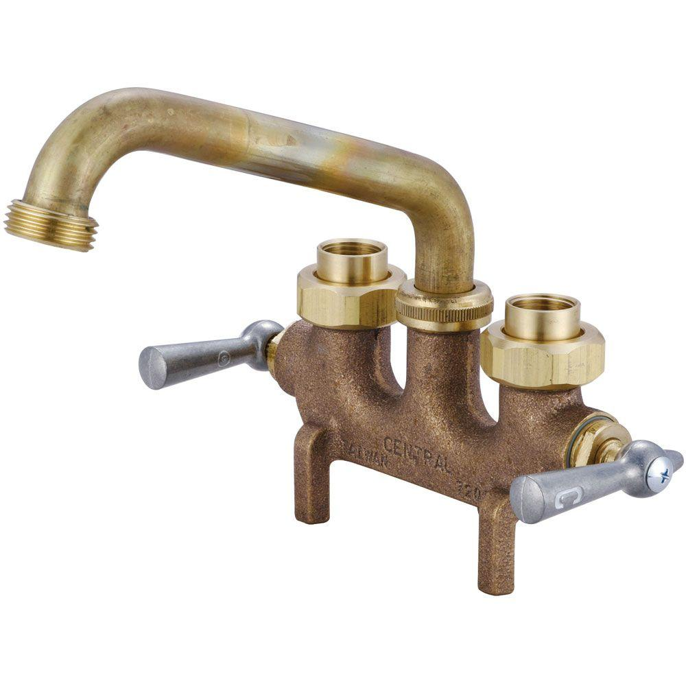 Gray Central Brass Cast Brass Laundry Faucet Central Brass Cast Brass Laundry Home Depot Laundry Sink Faucet Replacement Laundry Sink Faucets Moen houzz-03 Laundry Sink Faucet