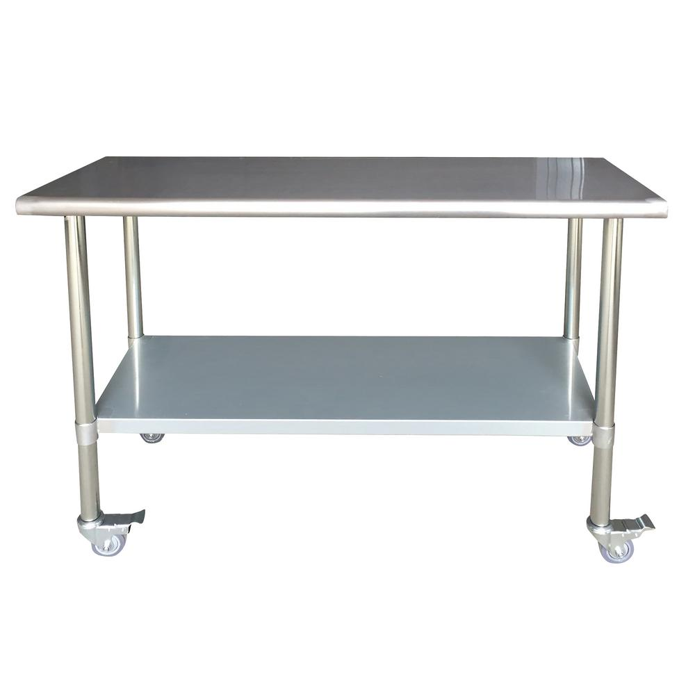 Imposing Locking Casters Sportsman Stainless Steel Kitchen Utility Table Sportsman Stainless Steel Kitchen Utility Table Locking Casters Kitchen Utility Tables Kitchen Utility Table India kitchen Kitchen Utility Table