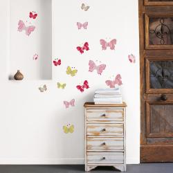 Small Crop Of Butterfly Wall Decals