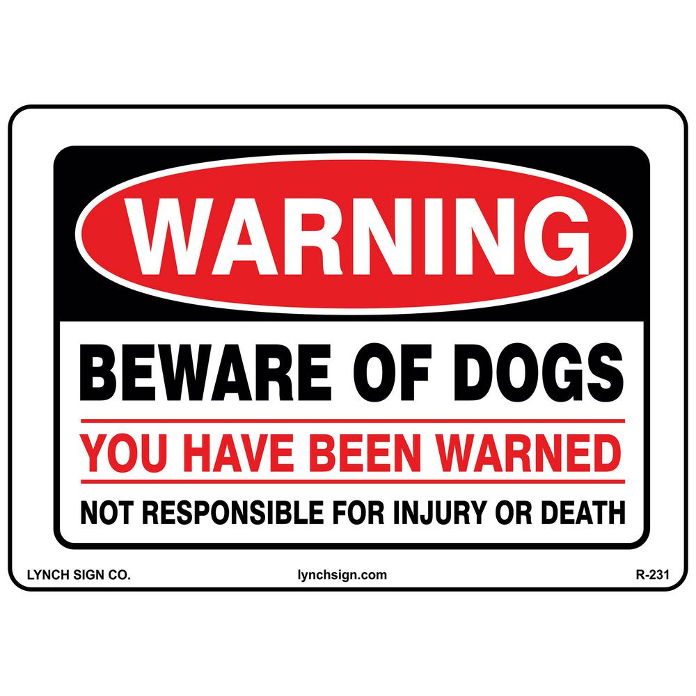 Soothing Warning Beware Dogs Sign Printed On Lynch Sign X Warning Beware Dog Signs Legal Dog Signs Home Depot Beware Dogs Sign Printed On Beware bark post Beware Of Dog Signs