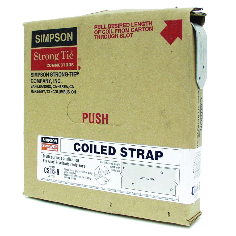 Smart Simpson Strong Tie Structural Straps Cs16 R 64 1000 Simpson Strong Wall Wsw Simpson Strong Wall Sizes houzz-03 Simpson Strong Wall